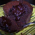 recette Coeur coulant sésame-chocolat noir