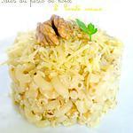 recette Pâtes au Pesto de Noix & Comté Vieux