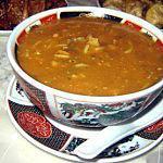 recette Harira (soupe marocainne)