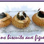 recette fins biscuits aux figues