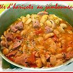 recette potés d'haricot au jambonneau