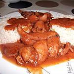 recette calamars à la sauce tomate