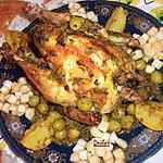recette Poulet Aux Olives (M'Hamar)
