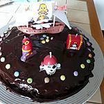 recette Le gateau moelleux au chocolat des pirates !!