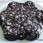 gâteau au pain, à la banane, noix de coco et chocolat