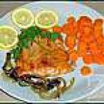 recette Filet de Truite de l'Aqualienne à la Blonde de Val-Dieu (Liège)