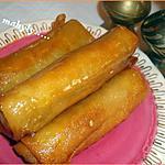 recette cigares aux amandes(marocain)