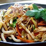 recette Bami Goreng, nouilles à l'indonésienne