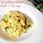 recette Gratin de Céréales Gourmandes à la Courgette & 3 Fromages