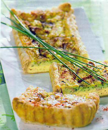 recette tarte feuilletée aux herbes