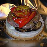 recette Burgers aux légumes confits