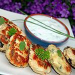 recette Galettes de poulet au curry et à la provençale