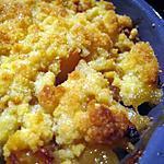 recette Crumble pomme banane au rhum