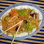 recette Salade chinois