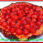 recette tarte aux fraises à la pate brioché