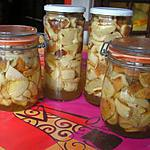 recette champignons en conserve