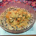 recette Curry de dinde au yaourt
