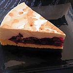 recette gâteau aux griottes et fromage blanc