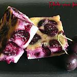 recette Clafoutis aux cerises à l'amande