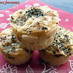 recette Muffins aux tomates séchées, parmesa & origan