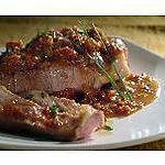 recette Côte de Porc Sauce au Pain d'Epice