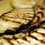 recette Courgettes grillées