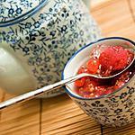 recette Gelée de Chardonnay aux fruits rouges