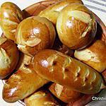recette Petits pains au lait au levain