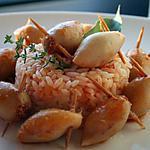 recette Mini encornets farcis