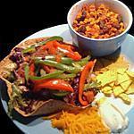 recette Viva Mexico: Tacos salad  & chili poulet !