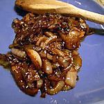 recette Oignons poêlés au vinaigre balsamique