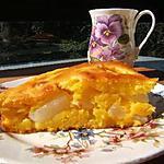 Gâteau au potiron et poires william,