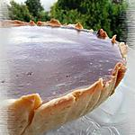 Tarte au chocolat & miroir de caramel au beurre salé