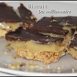 recette Biscuit du millionnaire