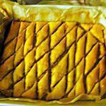 recette Baklawa rapide : gâteau aux amandes qui sert de petits fours