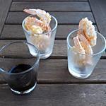 recette Crevettes roses à la chapelure Panko