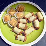 recette Bâtonnets aux amandes