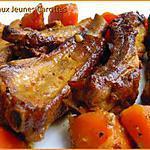 recette Travers de Porc aux Jeunes Carrottes
