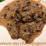 recette sauce au champignon