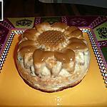 recette gâteau de semoule à la compotée de mirabelles au miel de montagne