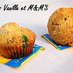 recette Ooo Muffins vanille & M&M'S ooO