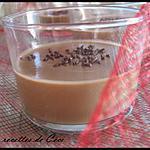 recette Petite crème au café