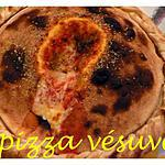 recette pizza vesuve