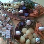 """recette """"AÏOLI GARNI""""  plat complet de poisson et légumes, de tradition provençale"""