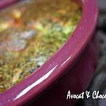 recette ** Petits Flans légers aux  noix de St Jacques & persillade parfumés aux pistils de safran**