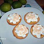 recette tarte aux  citrons vert