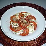 recette Gratin tomates/chèvre