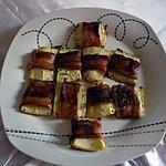 recette Courgettes lardées
