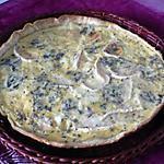 recette Quiche aux 4 fromages