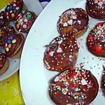 recette Cupcake au chocolat au lait et chocolat blanc